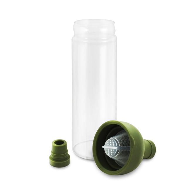 Tee Filterflasche aus Glas FIB-75-OG