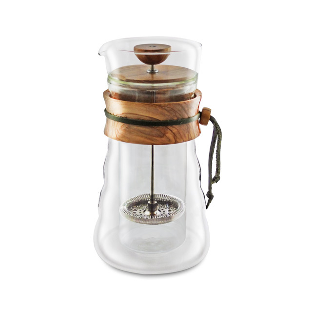 French Press Olivenholz DGC-40-OV