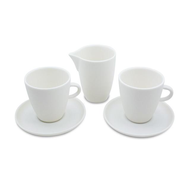 """Espresso Set """"Pure"""" mit Milchkännchen"""