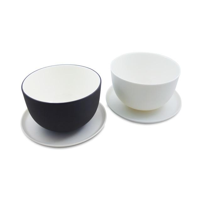 """Teeschüssel Set """"Pure and Muted"""" mit Untertellern"""