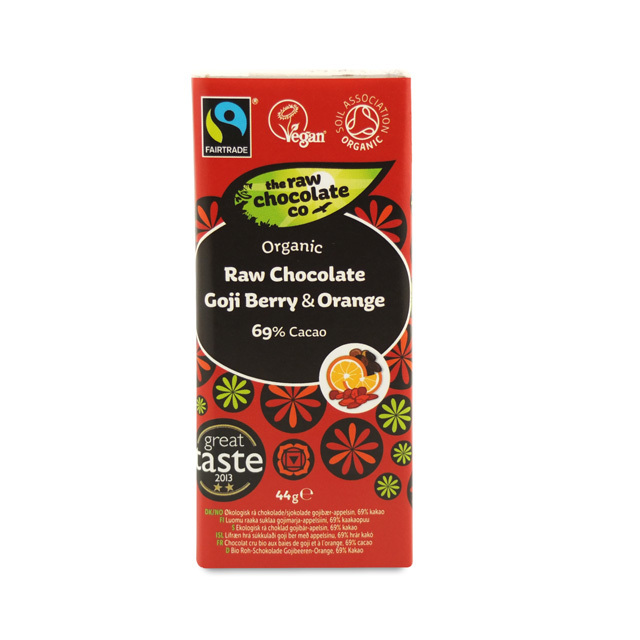 Raw Chocolate Goji Berry & Orange