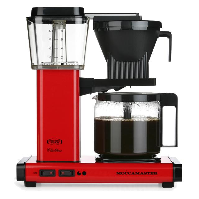 Kaffeemaschine Moccamaster Rot