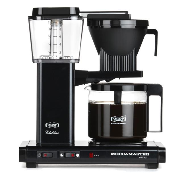 Kaffeemaschine Moccamaster Schwarz