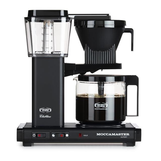 Kaffeemaschine Moccamaster Schwarz Matt