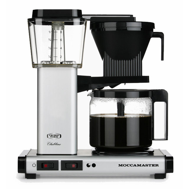 Kaffeemaschine Moccamaster Silber
