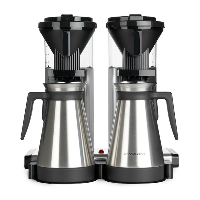 Kaffeemaschine Moccamaster Thermo Aluminium Poliert