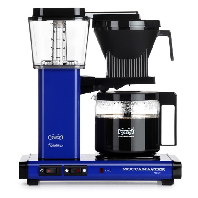 Kaffeemaschine Moccamaster Blau