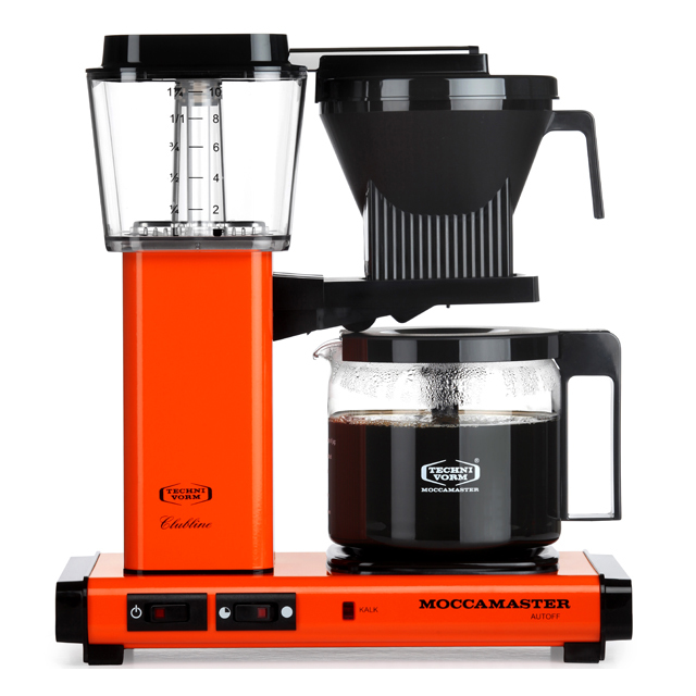 Kaffeemaschine Moccamaster Orange