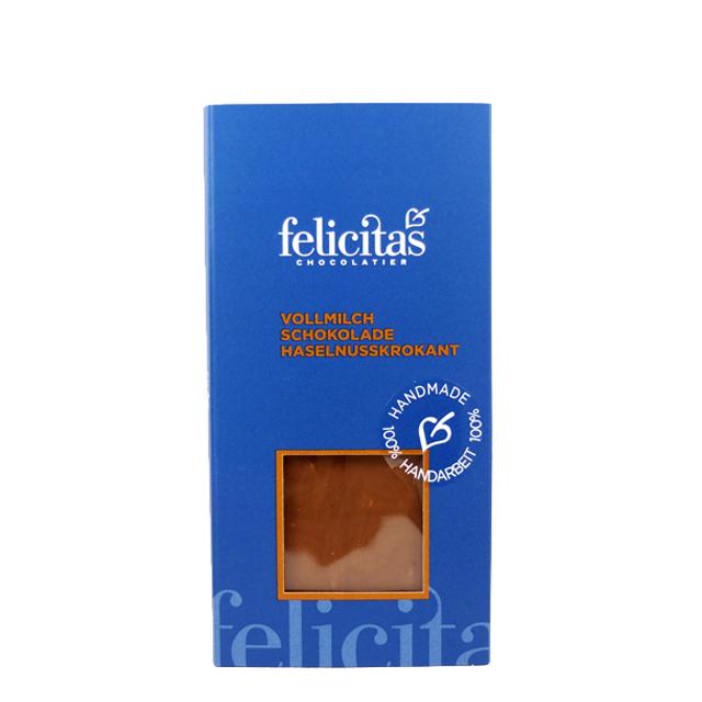 Vollmilch Schokolade Haselnusskrokant